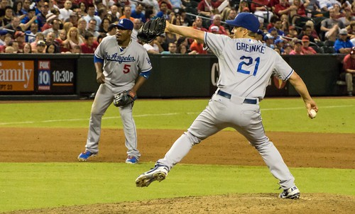 Greinke's Strong Start by Not That Bob James, on Flickr