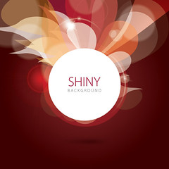 Shiny Background (DryIcons) Tags: circle lights shiny colorful message background magical vector