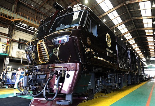 Japan's new luxury sleeper train The Kyushu Seven Stars 2