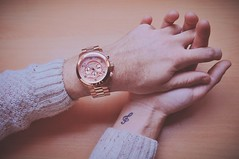 untitled (raysnaps ) Tags: pictures pink gay boy music guy rose tattoo ink work gold michael nikon watch knit note whatever wrist tat runway clef treble kors rosegold d5000 tumblr vsco rosegolden weheartit pinterest