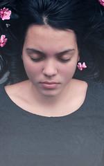 """""""Sleeping beauty"""" (Emma et la photographie) Tags: roses portrait woman selfportrait flores flower color rose fleurs canon photography photo foto photographie autoportrait femme flor pinkflower fotografia canoneos sleepingbeauty womanportrait îledelaréunion belleauboisdormant photographieartistique fleursroses canoneos600d emmaetlaphotographie"""