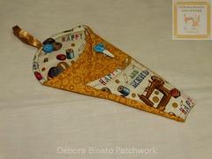 Trio-porta-tesouras (Débora Binato Patchwork) Tags: costuras alfineteiro agulheiro portatesoura