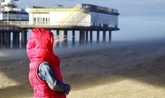 storm in Scheveningen (van Hoeflaken) Tags: autumn storm holland beach netherlands strand 50mm sand wind pentax scheveningen herfst nederland zand f17