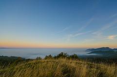 (Skiwalker79) Tags: italy panorama fog landscape dawn nikon italia alba nebbia romagna montefeltro perticara d5100