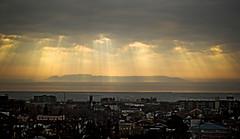 Sleeping Giant (INSTAGRAM @dmangilbert) Tags: pictures light sleeping sunrise giant bay rays thunder epica