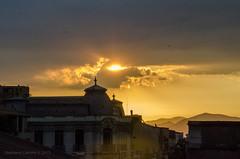 Atardecer desde mi balcn (Stephanie Cabrera Fotos) Tags: chile city santiago sunset naturaleza nature atardecer nikon colores balcn stephaniecabrera d7000 nikond7000