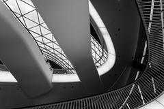 Futuristic Frankfurt (yago1.com) Tags: urban black architecture germany frankfurt shoppingmall futuristic palaisquartier myzeil vision:mountain=06