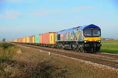 66718 - March 08/11/13 (James Welham) Tags: march hall felixstowe fea hams gbrf 66718 4l02