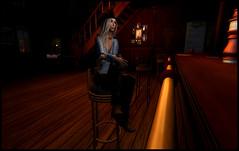 At the Bar (* NightHawk24 *) Tags: model sl secondlife virtual harmony cowgirl wildwest oldwest virtualworlds 2df