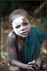 Surma, Peuple de l'Omo, Éthiopie - Suri, people of the Omo, Ethiopia ( Jean-Yves JUGUET ) Tags: africa boy tree field kid child artistic culture tribal east tribes bodypainting tradition ethiopia tribe ethnic rite arbre surma adornment pigments ethnology tribu suri ethiopie ethnie suris kibish nomadicpeople tulgit peopleoftheomovalley turgit peuledelavalléedelomo