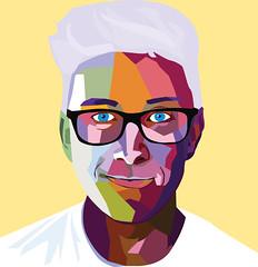 Tyler Oakley (Lizziefreshhh) Tags: tyler illustrator oakley wpap