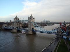 2013_11_20_london-towerbridge_02 (dsearls) Tags: bridge blue sky london water thames towerbridge river cityhall transport riverthames londontowerbridge londoncityhall anthropocene 20131120