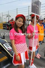 MACAU GRID GIRLS 005 (smtfhw) Tags: china macau motorracing motorsport racingcars formula3 racingdrivers 2013 60thmacaugrandprix