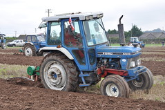 Ford 6610 Tractor with a Kverneland 2 Furrow Plough