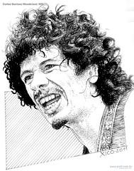 Carlos Santana Woodstock 1970
