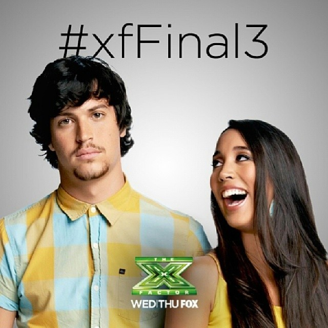 #teamalex&sierra #teamaands #xfactorfinal #xfFinal.  Hope they win..  I actually love @ellonasantiago but she was eliminated last few weeks.   .. and now Im hopping for alex&sierra or jeffgutt...  not Carlito..  haha. ..