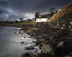 Stormy Sunday (SwaloPhoto) Tags: trees zeiss coast scotland rocks harbour fife availablelight coastal northsea ze firthofforth estuaries aberdour stormyskies bythesea leefilters canoneos5dmkii distagont2821 distagon2128ze aberdourboatclub