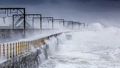 IMG_8912_adj (md93) Tags: wild storm waves railway promenade breakwater saltcoats stevenston ayrshirecoast