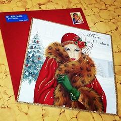 ขอบคุณน้ำอ้อยกับการ์ดสาวแกสบี้ จากแฮมเชียร์ ประเทศอังกฤษ ขอบคุณที่ระลึกถึงเสมอจ้ะ