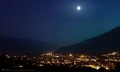 Brixen at Night (mnik_Photography) Tags: light italy moon mountains up night photography austria tirol town europe day brixen sd mnik