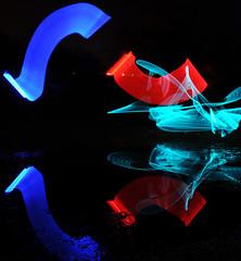 ReflectionDSC_5895 (Jimbo23King) Tags: longexposure light lightpainting reflection water silhouette lights led slowshutter lightsaber lightart sooc ledlenser