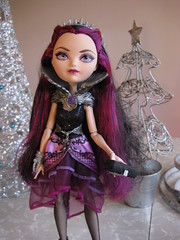 Raven In the Silver Forest (amber e/ Love Nest) Tags: doll december 13 ravenqueen everafterhigh