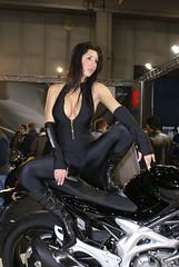 dsc00171 (themax2) Tags: girls bike expo verona motor tight 2009 lycra leggings promotora motorbikeexpo