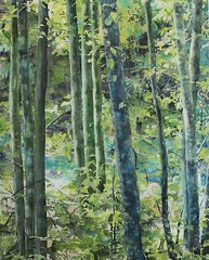 Trees of Riverbank (Painting demos) Tags: pictures trees leaves river watercolor painting paper landscape demo board free mounted watercolour gouache riverbank tutorial palette demos stepbystep spraybottle landscapepainting dropper wetinwet maskingfluid whitechina splashingpaint