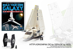 "BUILD YOUR OWN GALAXY by HEEL (""Orion Pax"") Tags: starwars lego heel imperialshuttle tydirium lambdashuttle baudirdeingalaxy buildyourowngalaxy"