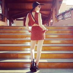 Trendy Blendy Lovebyn (Love by N) Tags: travel india black hat sunglasses fashion outfit dress boots goa tourist jewellery bracelet kelly chanel hermes miumiu balenciaga backless fashionblog boybag fashionblogger