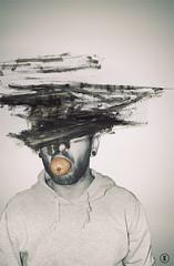 ale paint piccolo (Alex Cara) Tags: abstract black art photoshop fun photo paint manipulation mandarino