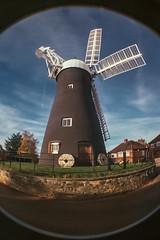 Holgate Windmill, November 2013 - fisheye (2)