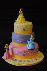 Tier Elena Of Avalor Birthday Cake