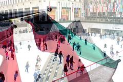 The Rock (Alexander Tran | atranphoto.com) Tags: plaza new york nyc ice exposure skating center flags double kuwait rockefeller 30rock atran atranphoto