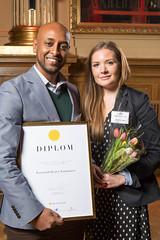 Josefina Lodin från Kammarkollegiet, nominerad till Web Service Award 2013 i klassen Intranät.