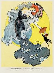 Die Weiberherrschaft I 1913 ill  Ballknigin (janwillemsen) Tags: fashion ball artnouveau jugendstil bookillustration1913womancartoon
