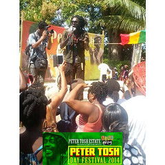 "Peter Tosh Day 2014 • <a style=""font-size:0.8em;"" href=""http://www.flickr.com/photos/92212223@N07/12815946795/"" target=""_blank"">View on Flickr</a>"