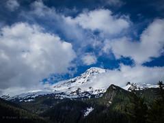 Hide-N-Seek (Michael @ NW Lens) Tags: sky clouds nationalpark roadtrip mountrainier 2014