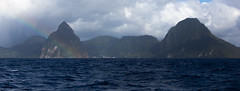 IMG_0411 (jaglazier) Tags: trees panorama mountains clouds islands landscapes seascapes january cities carribean cliffs rainbows urbanism atlanticocean forests stlucia volcanos deciduoustrees 2014 soufrire saintlucia 11014 lepitons copyright2014jamesaglazier