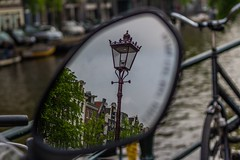 (McQuaide Photography) Tags: holland reflection netherlands amsterdam canon eos mirror europe spiegel nederland dslr 100d mcquaidephotography