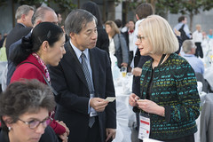 Ryuji Masuno in discussion Susan Kurland