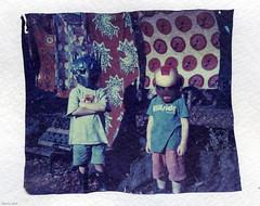The Good the Bad and the Laundry (BunnySafari) Tags: kids fun instant superheroes emulsionlift 669 fpp polaroid210 watercolourpaper autaut bunnysafari expired669polaroidfilm roidweek2014