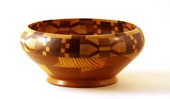 Segmented Bowl (C r u s a d e r) Tags: woodwork handmade crafts bowl hobby 400 etc pastime lathe woodturning pentaxk3
