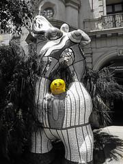 Balboa Park, San Diego (nadine3112) Tags: sandiego balboapark colorkey colorkeying