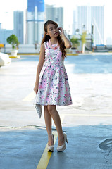 Trice Nagusara La Petite 7 (Trice Nagusara) Tags: pink white floral fashion beige dress formal style blogger styles petite semiformal petites lapetite floralprints dorothyperkins smartcasual smaccessories fashionblogger nudeheels tricenagusara