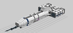 wip ship (tommow) Tags: ship lego space craft spaceship spacecraft ldd