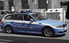 Polizia Stradale BMW 320 Touring Brescia (Boss-19) Tags: polizia stradale | di stato| via san faustino| brescia province bs lombardia lombardy italia italy stato squad car bmw 320 touring e91 restyle h 5709 1000 miglia 2014 h5709 25122 b s street police polizei politie italie italien officer paint paintnet