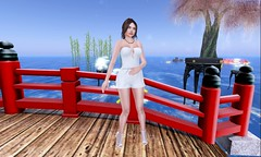 Boa on a Bridge (KimberlySL) Tags: moonhair secondlife moon atelierpepe catwa meshhead meshbody maitreya maitreyalara buzzeri applemaydesigns breathe realevilindustries slfreebie sl