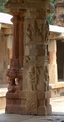 Fluted Pillar with Vaman Avatar carving (VinayakH) Tags: bhoganandeeshwaratemple karnataka india temple nandihills chikkaballapura chola ganga hoysala tipusultan religious historic