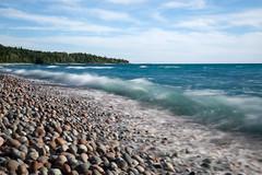 Lake Superior (moorephotography2) Tags: lake superior canada ontario water great lakes rocks pebble beach long exposure